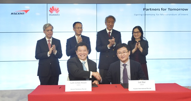 2016, Global Partner of Huawei for Narrowband IoT
