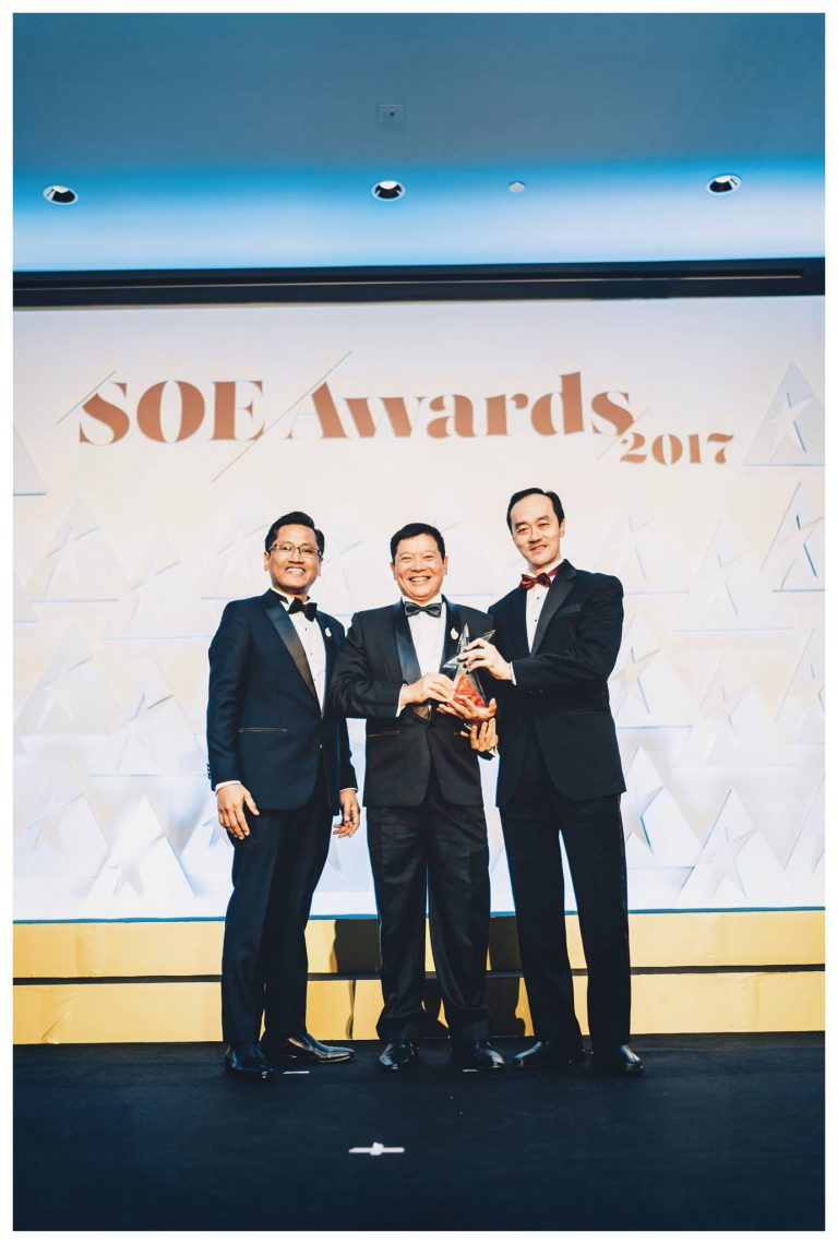 2017, Winner of Spirit of Enterprise Awards