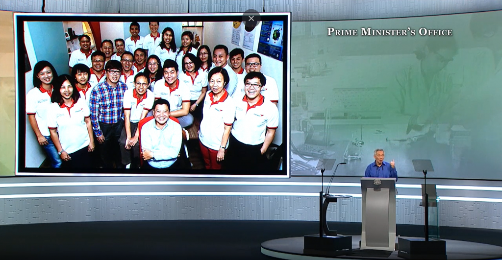 National Day PM Lee Mentions Ascent Solutions